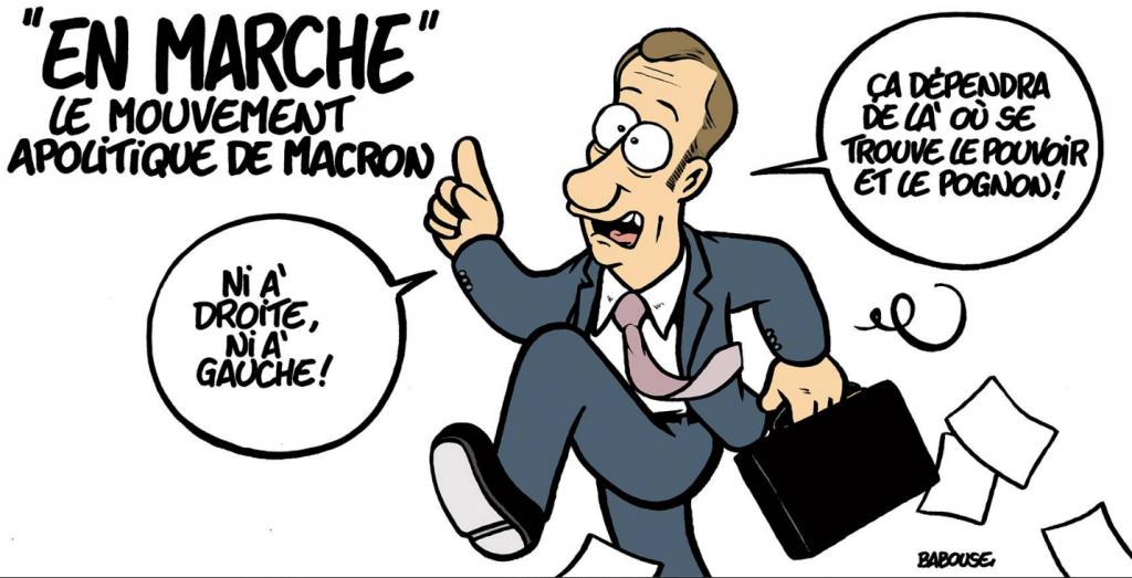 Ni droite ni gauche : le libéralisme En  Marche !