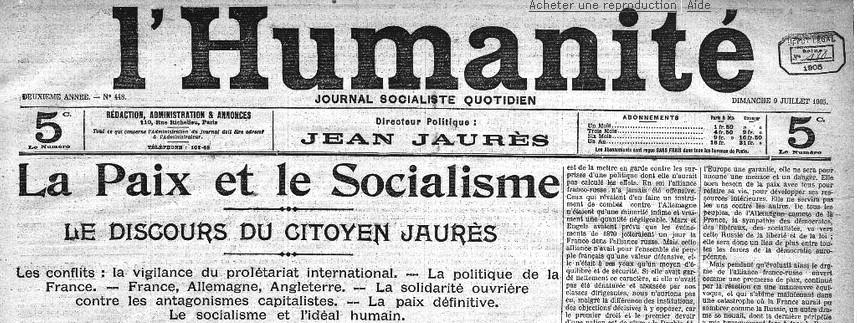 [Bibliosphère] Qu'est-ce que le socialisme ? – Jean Jaurès